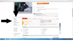 Betrouwbaarheid verkoper Aliexpress