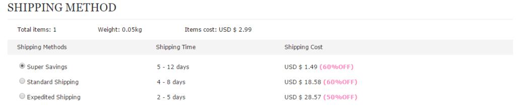 shipping tbdress