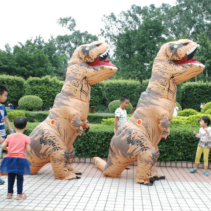 t-rex kostuum
