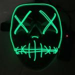 Halloween masker neon